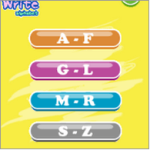 misc_baby write alphabet
