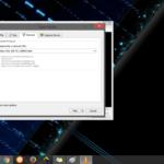 Screenshot enter a network url