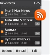 RSS1 newsfeeds