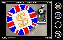 Tampilan playback My Audio